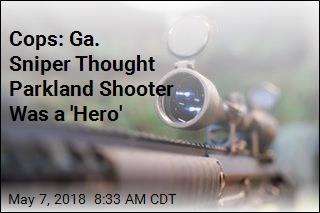 Cops: Ga. Sniper Thought Parkland Shooter Was a 'Hero'
