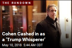 Cohen Cashed in as a 'Trump Whisperer'