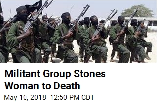 Militant Group Stones Woman to Death