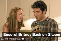 Encore! Britney Back on Sitcom