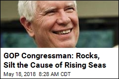 GOP Congressman Blames Sea-Level Rise on Erosion