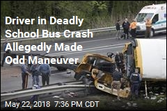 Driver in Deadly School Bus Crash Allegedly Made Odd Maneuver
