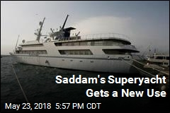Saddam Hussein's Swanky Superyacht Now a Hotel for Sailors