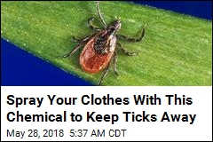 Tick-Proofing Your Clothes May Prevent Disease