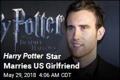 Harry Potter Star Marries US Girlfriend