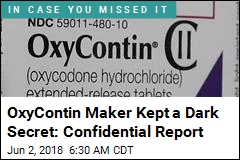 OxyContin Maker Kept a Dark Secret: Confidential Report