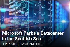 Microsoft Parks a Datacenter in the Scottish Sea