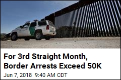 For 3rd Straight Month, Border Arrests Exceed 50K