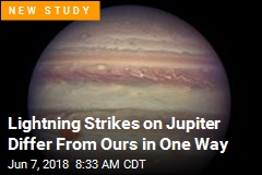 Lightning Strikes on Jupiter Differ From Ours in One Way
