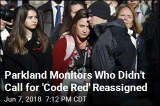 Parkland Monitors Who Didn't Call for 'Code Red' Reassigned