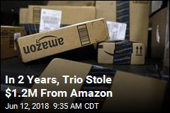 In 2 Years, Trio Stole $1.2M From Amazon