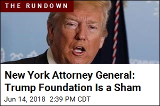 New York Attorney General: Trump Foundation Is a Sham