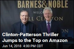 Books: Clinton-Patterson Thriller Debuts at No. 1