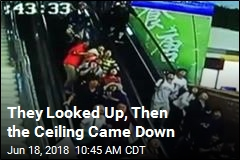 They Looked Up, Then the Ceiling Came Down