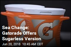 Sea Change: Gatorade Offers No-Sugar Version