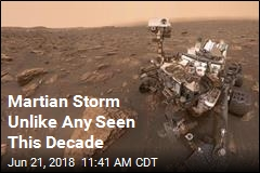 Martian Storm Unlike Any Seen This Decade