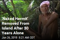 'Naked Hermit' Removed From Island After 30 Years Alone