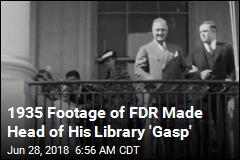 Rule-Breaking Tourist Captured Remarkable Footage of FDR