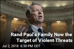 Man Threatens to 'Chop Up' Rand Paul's Family With Ax