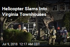 Helicopter Slams Into Virginia Townhouses