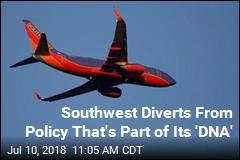 Southwest Diverts From Policy That's Part of Its 'DNA'