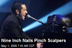 Nine Inch Nails Pinch Scalpers