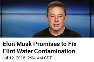 Elon Musk Promises to Fix Flint Water Contamination