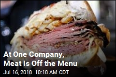 At One Company, Meat Is Off the Menu