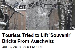 Tourists Tried to Lift 'Souvenir' Bricks From Auschwitz