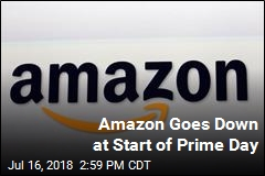 Amazon Goes Down at Start of Prime Day