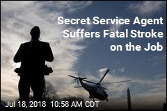 Secret Service Agent Suffers Stroke on the Job, Dies