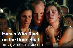 The Duck-Boat Victims, Remembered