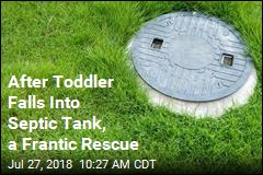 Big Sister Revives Brother After Fall Into Septic Tank