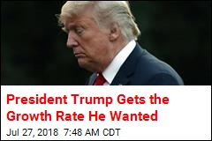 President Trump Gets the Growth Rate He Wanted
