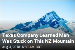 Texas Company Learned Man Was Stuck on This NZ Mountain
