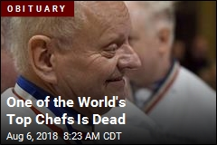 One of the World's Top Chefs Is Dead