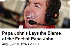 Papa John's Says Papa John Caused Steep Sales Decline