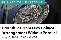 ProPublica Unmasks Political 'Arrangement Without Parallel'