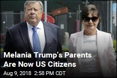 First Lady's Parents Become US Citizens