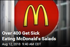 People Still Getting Sick From McDonald's Salads