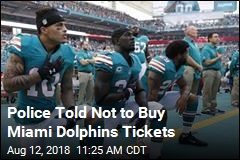 Florida Cops Asked Not to Buy Dolphins Tickets