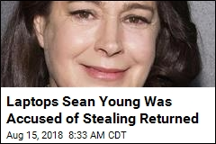 Laptops Sean Young Was Accused of Stealing Returned