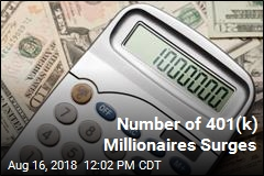 Number of 401(k) Millionaires Surges