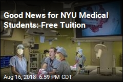 Good News for NYU Medical Students: Free Tuition