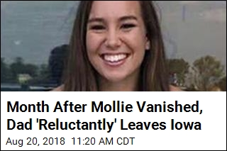 Mollie Tibbetts' Dad 'Very Reluctantly' Flies Home