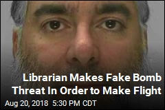 Librarian Makes Fake Bomb Threat In Order to Make Flight