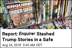 Report: Enquirer Stashed Trump Stories in a Safe