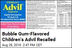 Children's Advil Recalled Due to Overdose Concerns