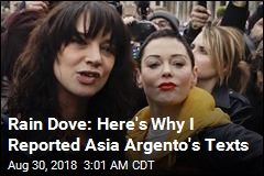 Rain Dove: Why I Reported Asia Argento Texts