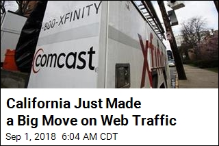 California Makes a Big Move on Net Neutrality